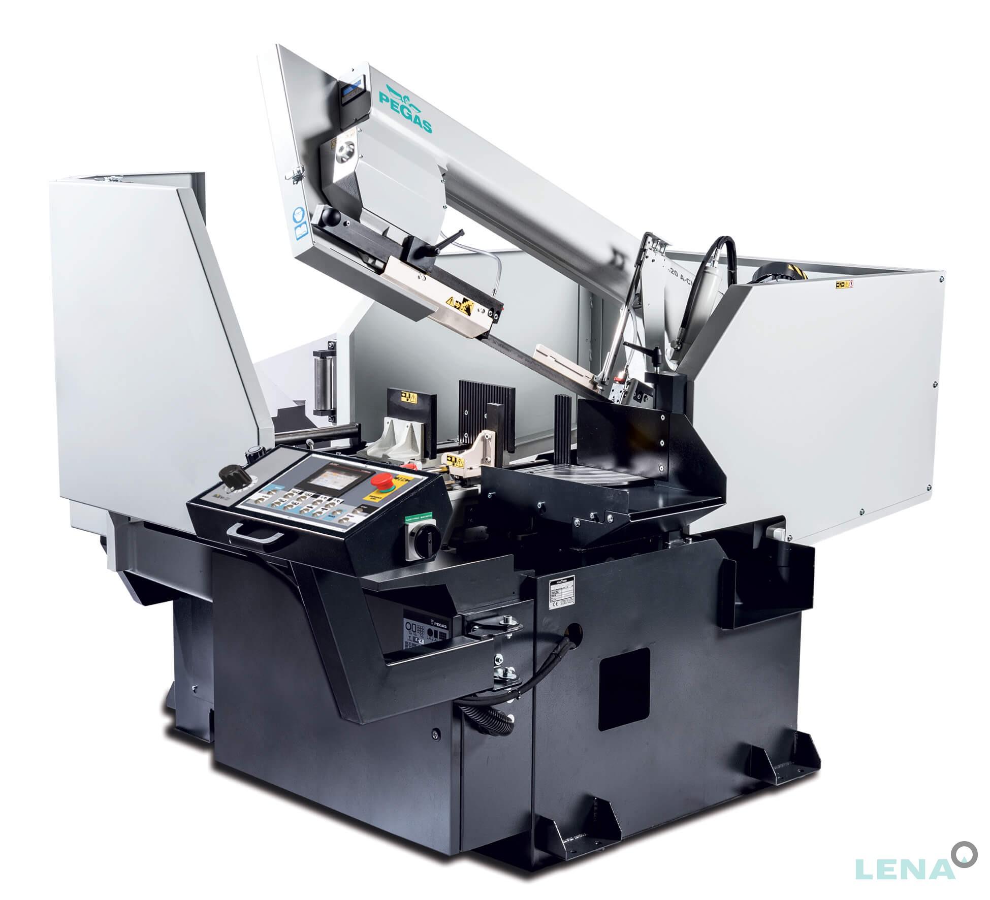 Автоматична лентоотрезна машина с падащо рамо