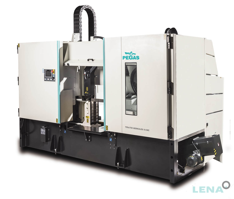 Автоматична двуколонна лентоотрезна машина