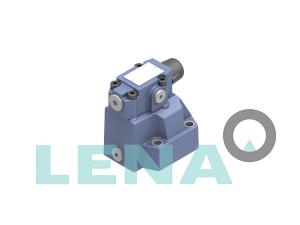 Регулиращи клапани за налягане, подложка за редуциране на налягането, резба, пилот за управление на патрона тип DR