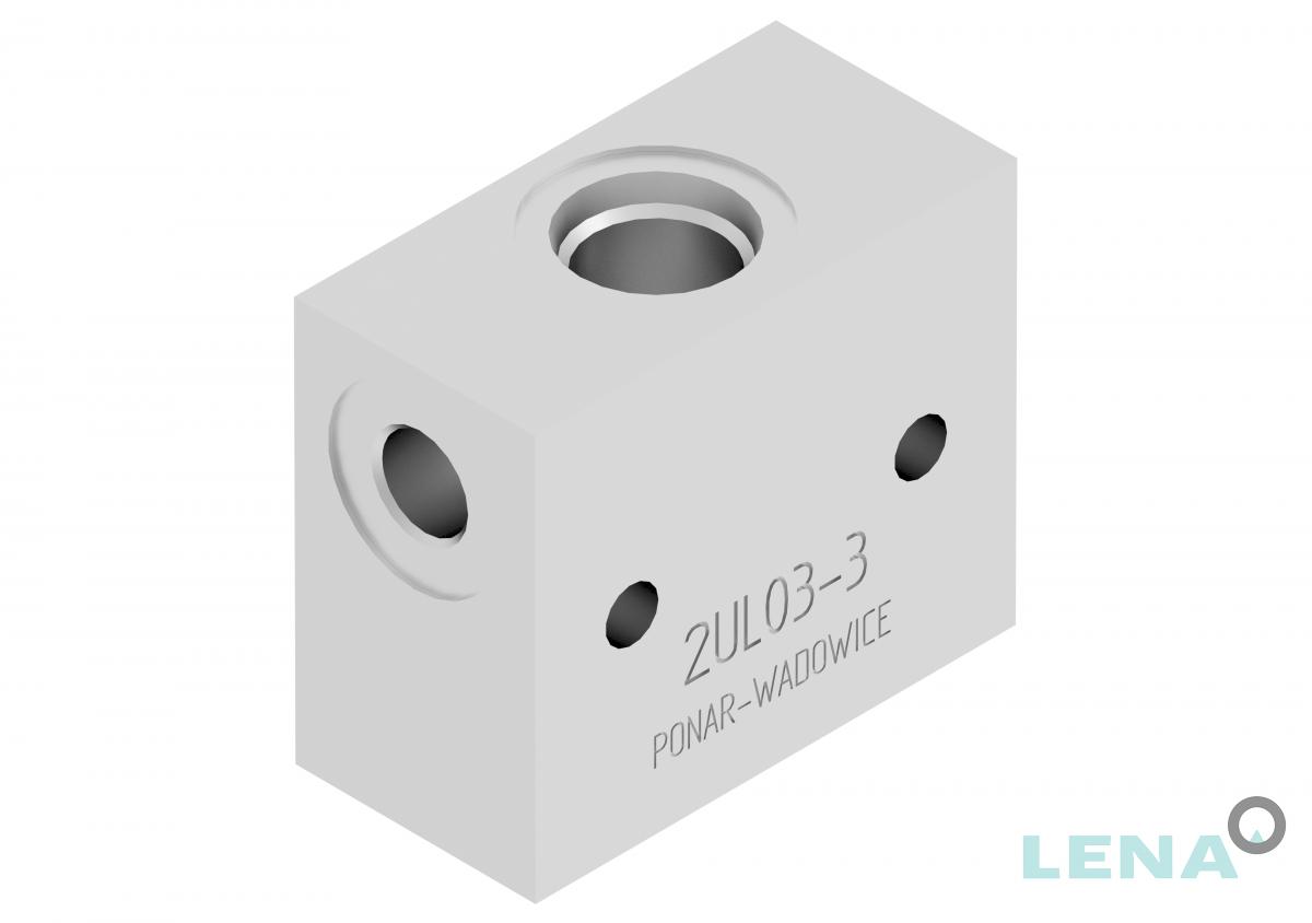 Хидравлични блокове за кетридж клапани, тип 2UL 03 3