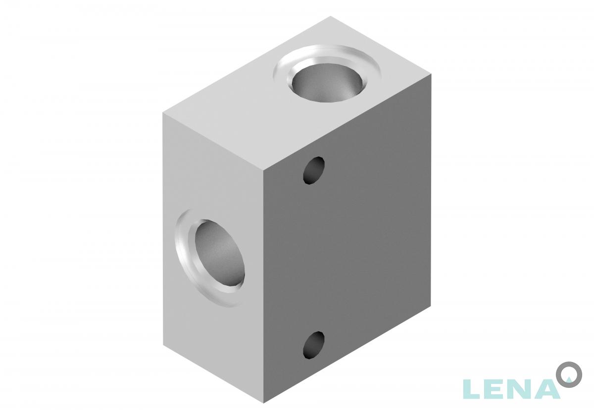Хидравлични блокове за кетридж клапани, тип 2UL 06 2