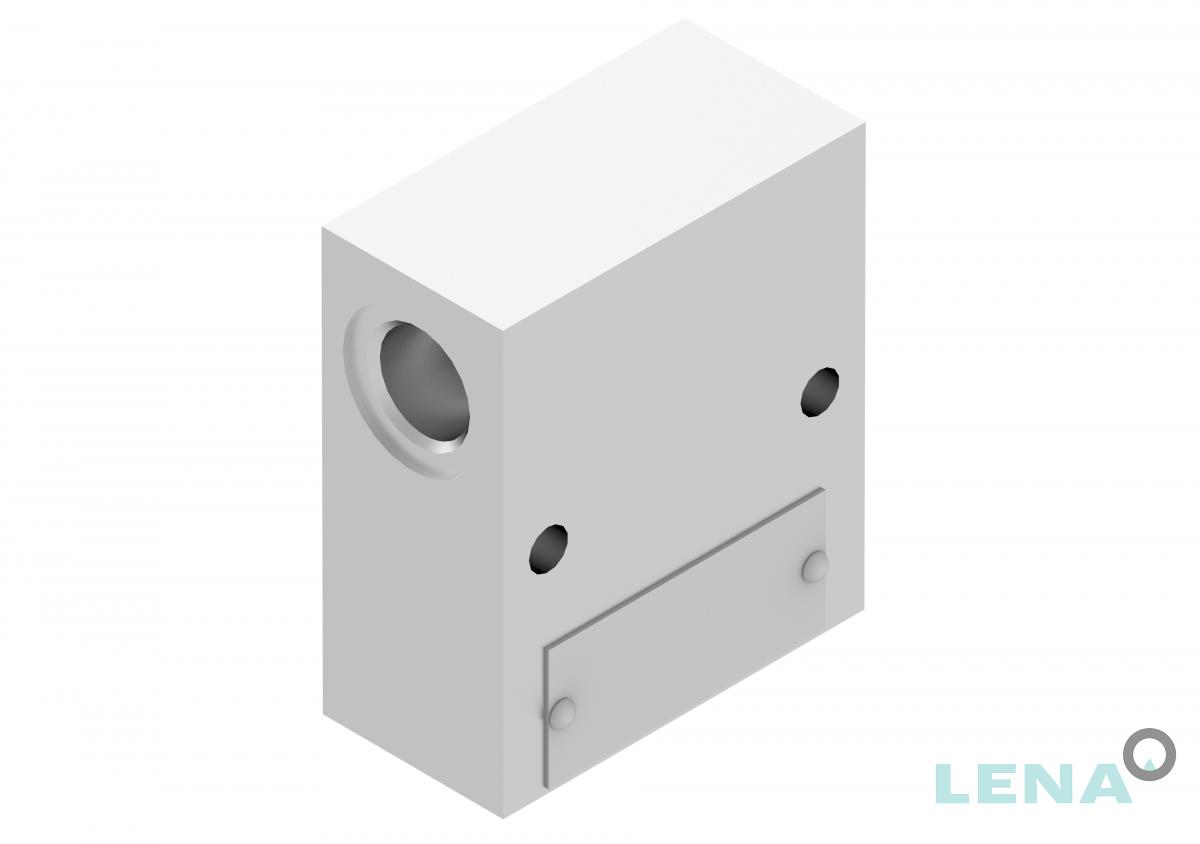 Хидравлични блокове за кетридж клапани, тип 2UL 06 3