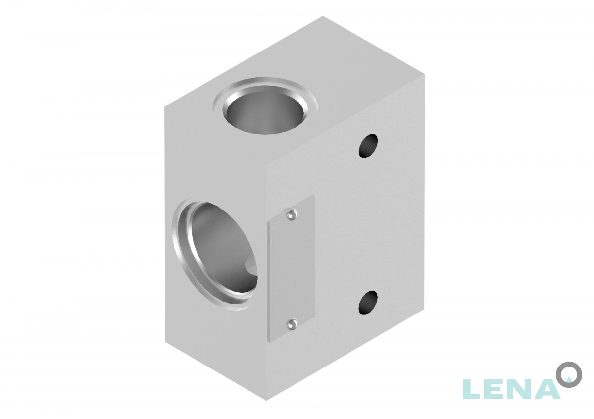 Хидравлични блокове за кетридж клапани, тип 2UL 10 2