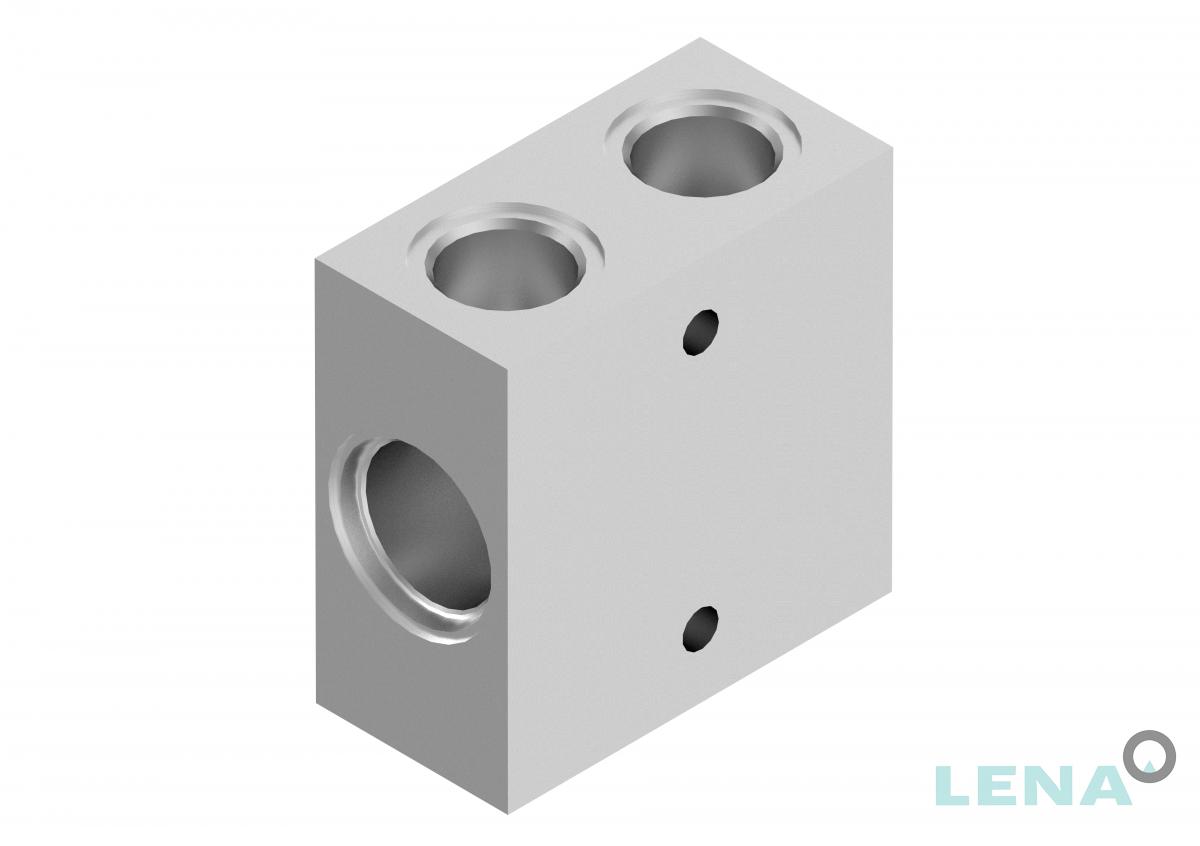 Хидравлични блокове за кетридж клапани, тип 2UL 10 3