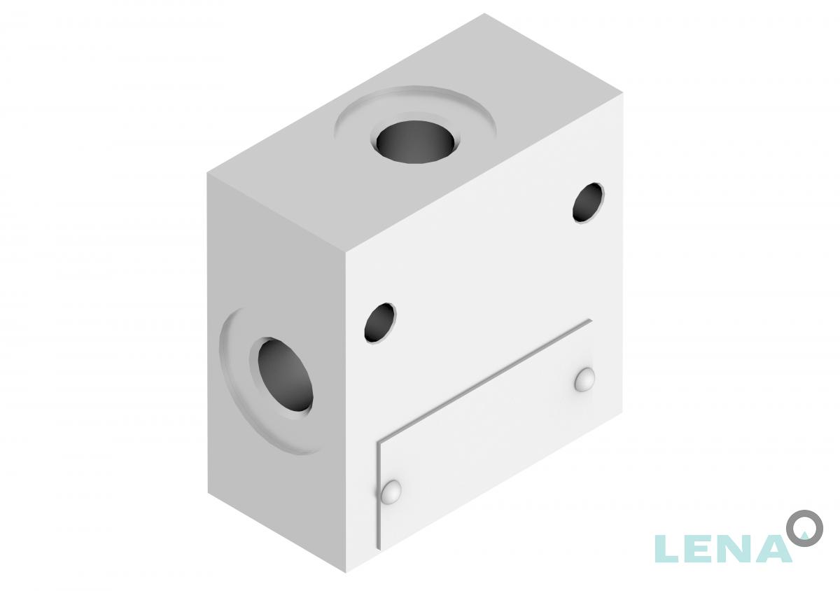 Хидравлични блокове за кетридж клапани, тип 3UL 04 4