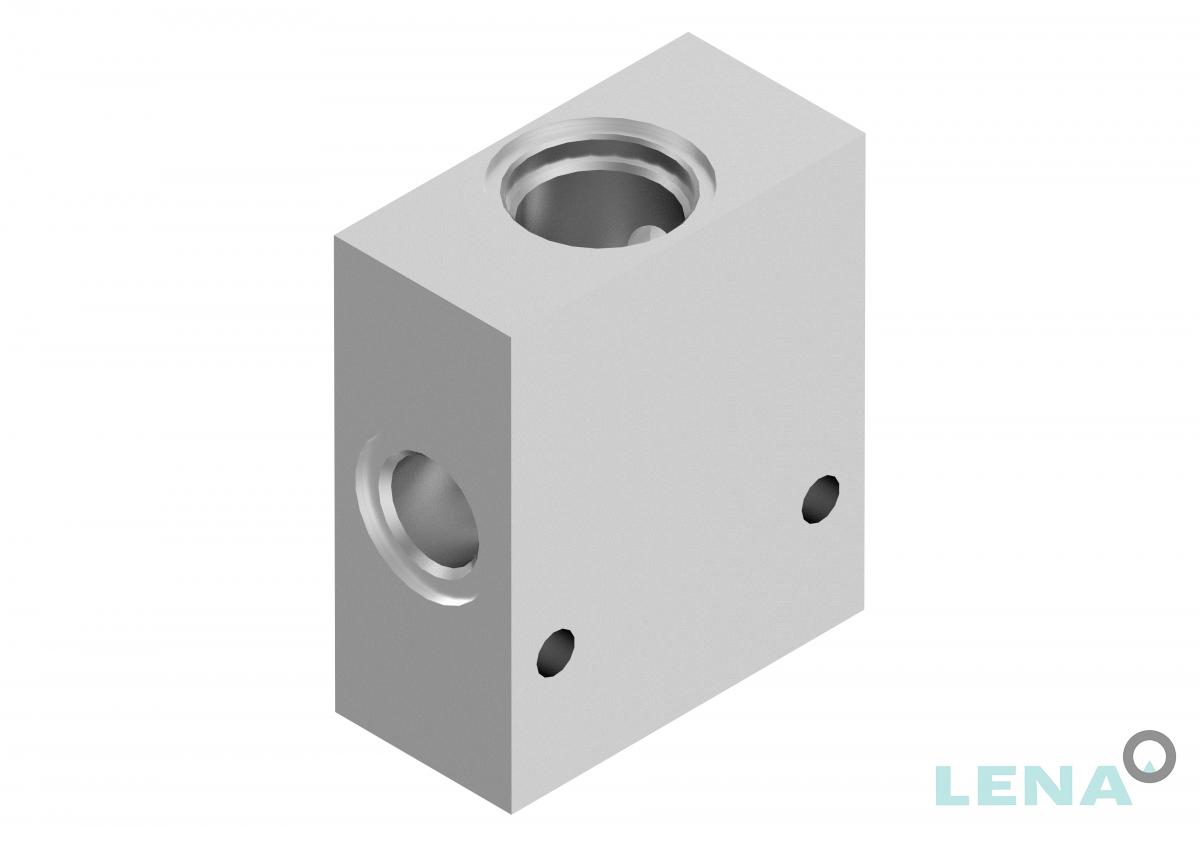 Хидравлични блокове за кетридж клапани, тип 3UL 06 4