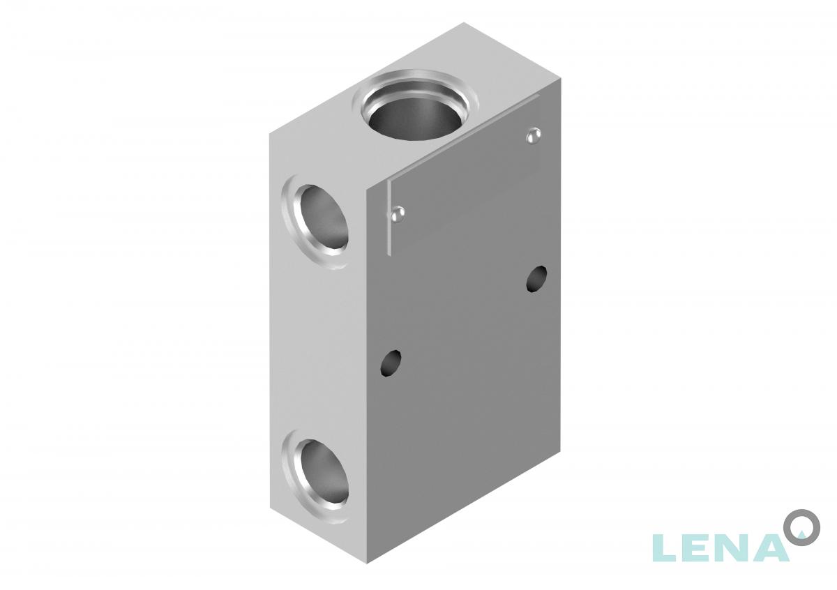 Хидравлични блокове за кетридж клапани, тип 3UL 06 6