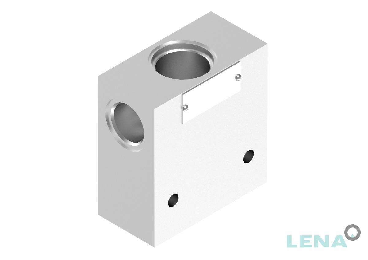 Хидравлични блокове за кетридж клапани, тип 3UL 10 4