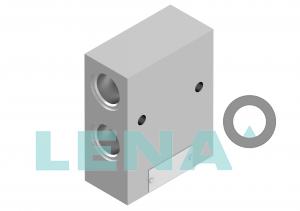 Хидравлични блокове за кетридж клапани, тип 3UL 10 5