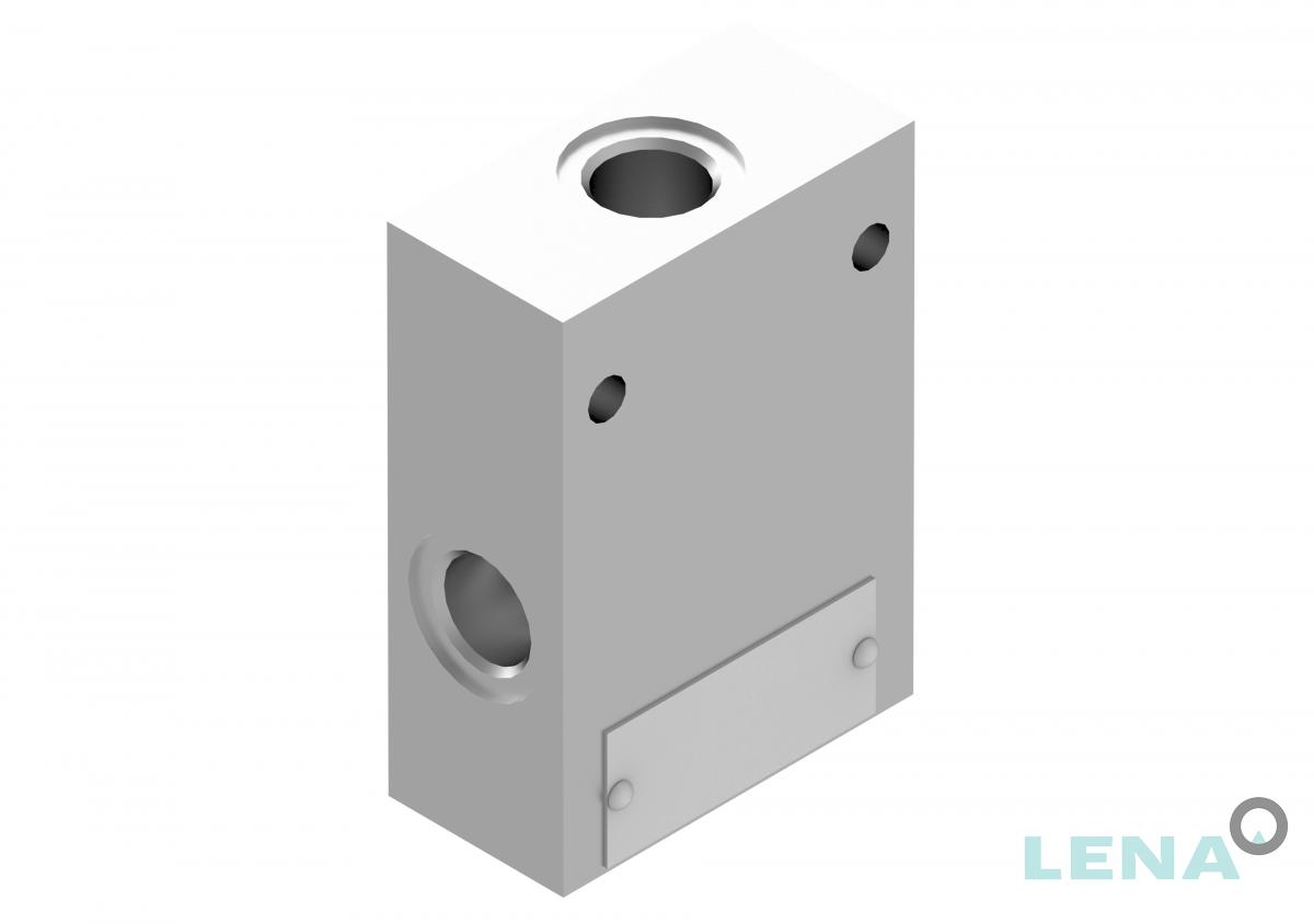 Хидравлични блокове за кетридж клапани, тип 4UL 06 7